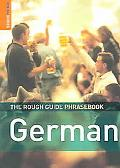 Rough Guide German Phrasebook