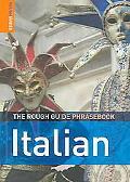 Rough Guide Italian Phrasebook