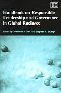 Handbook on Responsible Leadership And Governance in Global Business