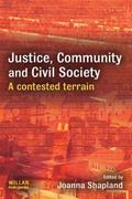 Justice, Community and Civil Society A Contested Terrain