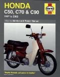 Honda C50, C70 & C90: 1967 to 2003 (Haynes Service & Repair Manual)