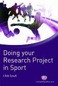 Researching Sport and Exercise : A Student Guide
