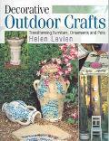 Decorative Outdoor Crafts Transforming Furniture, Ornaments and Pots