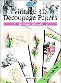 Vintage 3d Papers