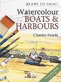 Watercolour Boats and Harbours