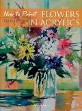 Flowers in Acrylics