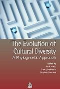 Evolution of Cultural Diversity: A Phylogenetic Approach - Ruth Mace - Paperback
