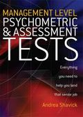 Management Level Psychometric and Assessment Tests: Everything You Need to Know to Help You ...