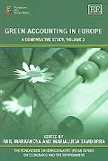 Green Accounting In Europe A Comparative Study