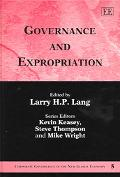 Governance And Expropriation