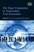 Elgar Companion to Transaction Cost Economics