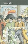 Bourgeois Revolution in France, 1789-1815