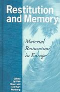 Restitution and Memory Material Restitution in Europe