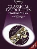 Classical Favourites Playalong for Flute Book