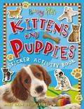 Busy Kids Sticker Books Kittens and Puppies
