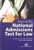 Passing the National Admissions Test for Law