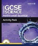 Edexcel GCSE Science: Additional Science Activity Pack (Edexcel GCSE Science 2011)