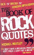 Book of Rock Quotes