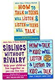 How to Talk So Kids and Teens Will Listen To Parent Collection 3 Books Set (Series 1) (Child...