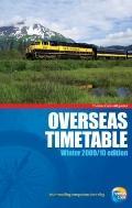 Overseas Timetable - Winter 10/11