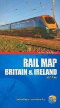 Rail Map of Britain & Ireland, 7th (Rail Guides)