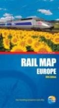 Rail Map of Europe, 18th (Thomas Cook Rail Map Europe)