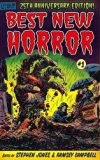 25th Anniversay Edition BEST NEW HORROR #1 [Trade Paperback] Edited by Stephen Jones & Ramse...