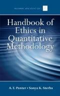 Handbook of Ethics in Quantitative Methodology