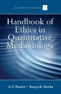 Handbook of Ethics in Quantitative Methodology
