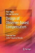 Design Of Observer-Based Compensators