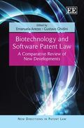 Biotechnology and Software Patent Law : A Comparative Review of New Developments