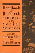 Handbook for Research Students in the Social Sciences