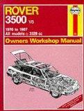 Rover 3500 V8 1976-87 Owner's Workshop Manual (Service & Repair Manuals)
