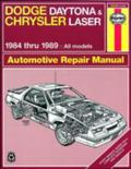 Dodge Daytona and Chrysler Laser 1984 Thru 1989 All Models Automotive Repair Manual