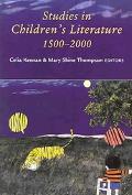 Studies in Children's Literature, 1500-2000