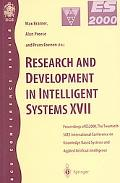 Research and Development in Intelligent Systems XVII Proceedings of Es2000, the Twentieth Sg...