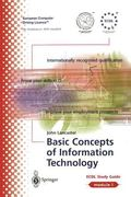 Ecdl Module 1 Basic Concepts of Information Technology  Ecdl - The European PC Standard