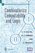 Combinatorics, Computability and Logic Proceedings of the Third International Conference on ...