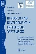Research And Development In Intelligent Systems Xx Proceedings Of Ai-2003, The Twenty-third ...