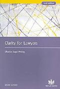 Clarity for Lawyers: Effective Legal Writing