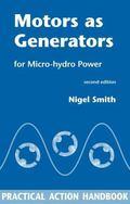 Motors As Generators for Micro-Hydro Power