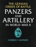 German Order of Battle Panzers and Artillery in World War II