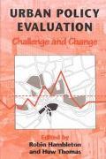 Urban Policy Evaluation Challenge & Change
