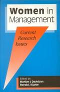 Women in Management Current Research Issues
