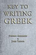Key to Writing Greek