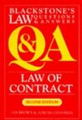 Law of Contract: Blackstone's Law Questions and Answers (Blackstone's Law Questions & Answers)