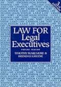 Law for Legal Executives: Year One