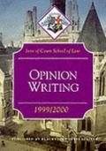 Opinion Writing: Inns of Court School of Law 1999-2000