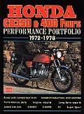 Honda Cb350 & 400 Fours Performance Portfolio 1972-1978