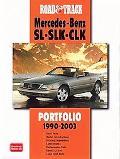 Road & Track Mercedes Benz Sl Slk-Clk Portfolio 1990-2003